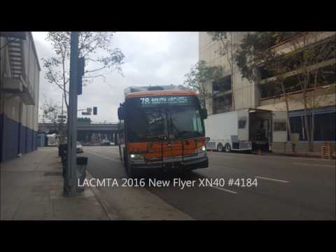 Los Angeles County Metropolitan Transportation Authority 2016 New Flyer XN40 #4184