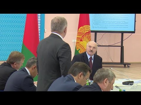 Александр Лукашенко: «Вы