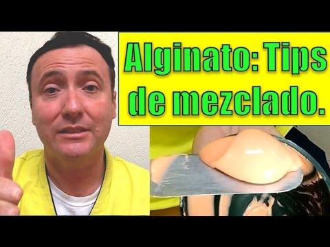 Alginato: Tips de