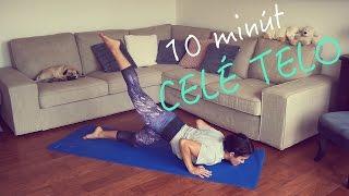 10 minútový FitLady tréning na celé telo, kardio cvičenie pre ženy s vlastnou váhou