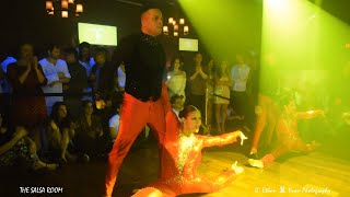 ZAFIRE DC Dance Performance At THE SALSA ROOM