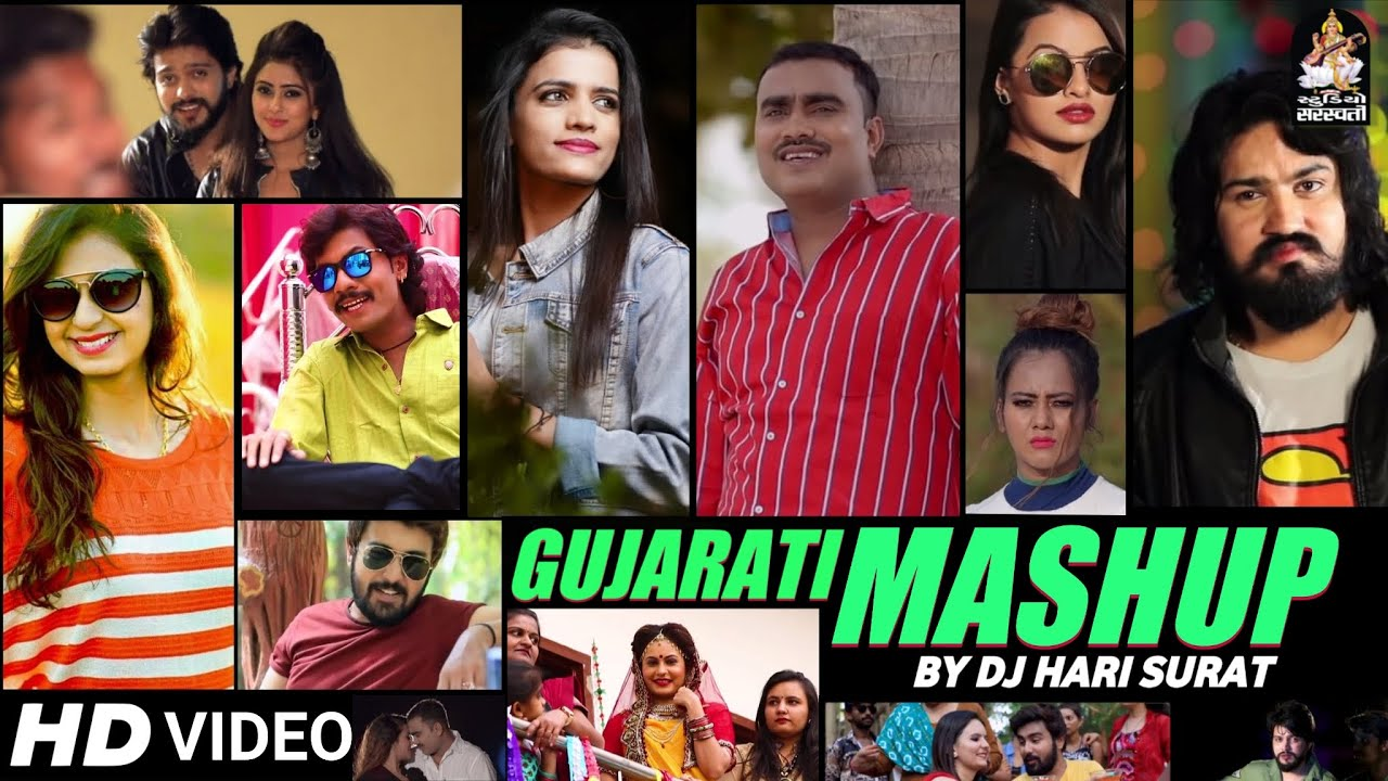 Gujarati Mashup 2021   JIGNESH BAROT, VIJAY SUVADA, DHAVAL BAROT, KINJAL DAVE, RAJAL BAROT   DJ HARI