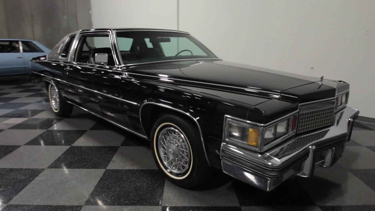 3444 ATL 1979 Cadillac Coupe DeVille