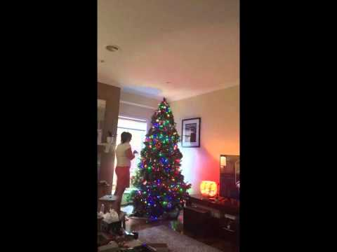 Deckin' the Halls, 2015 (Unofficial title: Mum does the work, Dad gets the glory!)
