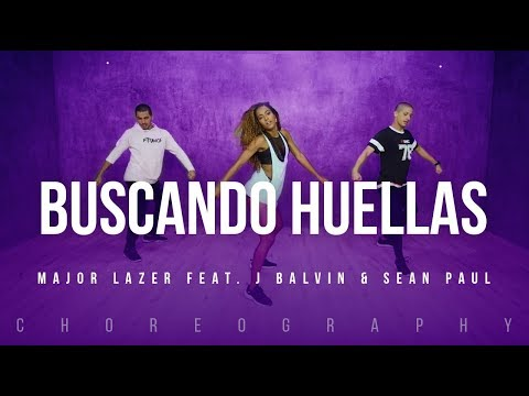 Buscando Huellas - Major Lazer Feat. J Balvin & Sean Paul | FitDance Life (Coreografía) Dance Video