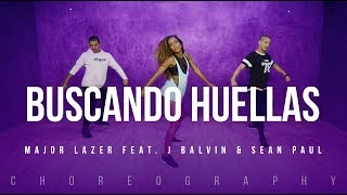 Buscando Huellas - Major Lazer Feat. J Balvin & Sean Paul | FitDance Life (Coreografía) Dance Video