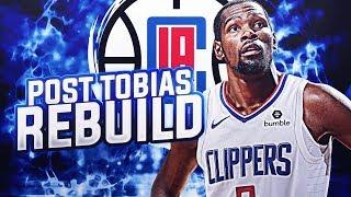 2 MAX SPOTS! POST TOBIAS CLIPPERS REBUILD! NBA 2K19