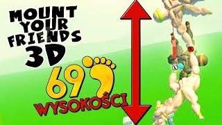 WIEŻA NA 69 STÓP WYSOKOŚĆI! | Mount Your Friends 3D [#4] (With: Plaga, Paveł)