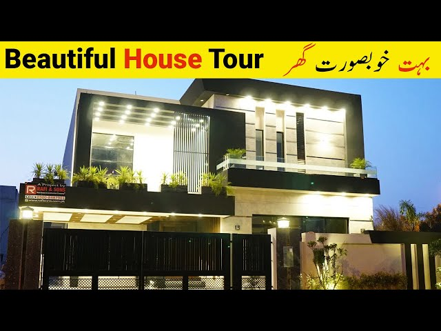 State of the Art Modern House in Bahria Town Lahore