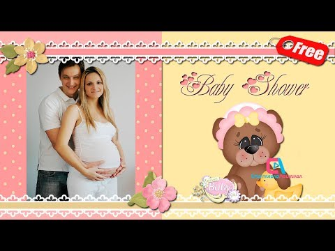 Invitación Baby Shower Digital para Niña #ProshowProducer