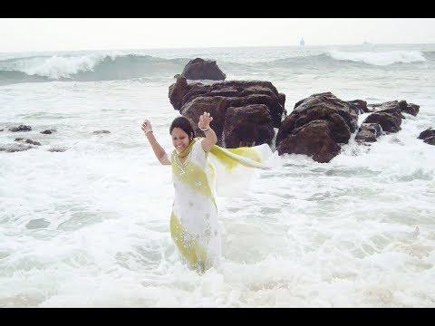 Rushikonda Vizag, sea bath in beach, Beautiful sea beach in Visakhapatnam  tourist place,