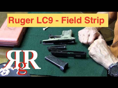 Ruger LC9 Field Strip - YouTube
