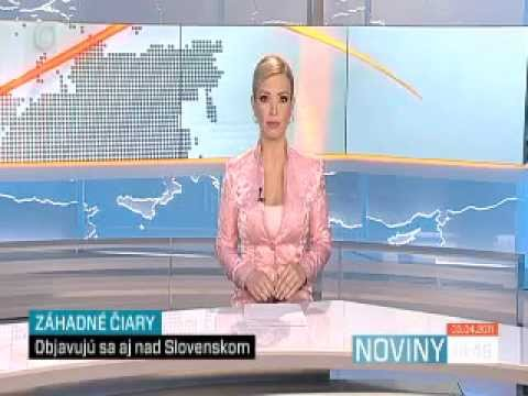 ChemTrail Coverage On Television (In Slovakia; has english subs)