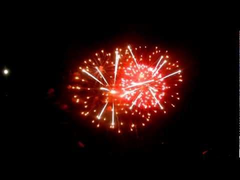 Fireworks at Princeton University Reunion 2012