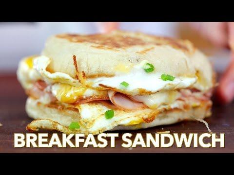 The Best Breakfast Sandwich One Pan Breakfast Natasha's Kitchen