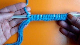 Урок 7 Двойной набор петель на спицы Кnitting cast on lesson