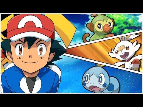 Quem Sera O Inicial Do Ash Em Galar Pokemon Sword E Pokemon