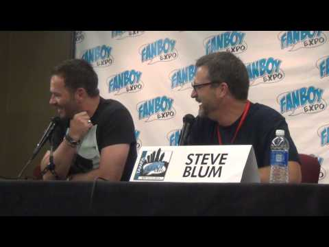 Voice Actors Steve Blum and Greg Ellis at Boy Expo in Tampa September 14, 2014