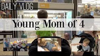 young mom of 4 spend the day with us daily vlog naturallythriftymom