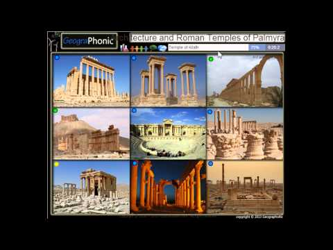 Ancient City of Palmyra, Roman temples and architecture in Syria