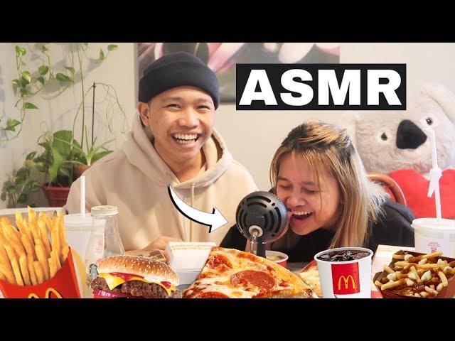THE MOST DISTURBING ASMR VIDEO!! (Philippines) Mcdo Mukbang w/ my Sister