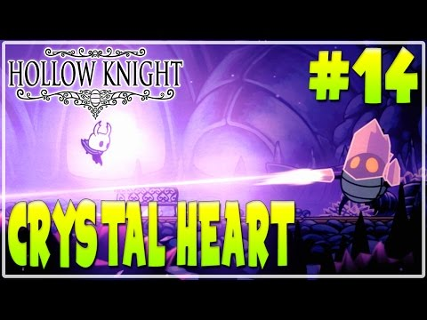 #14 HOLLOW KNIGHT WALKTHROUGH GAMEPLAY | CRYSTAL HEART |  Furo Full Game HD