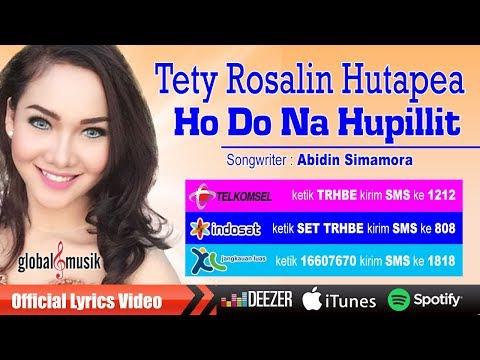 Tety Rosalin Hutapea - Ho Do Na Hupillit (Official Lyric Video)