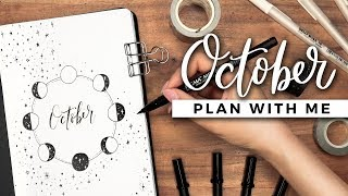 PLAN WITH ME | October 2019 Bullet Journal Setup