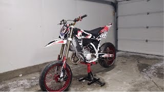 """Husqvarna SM 125 Project """"white and red"""""""