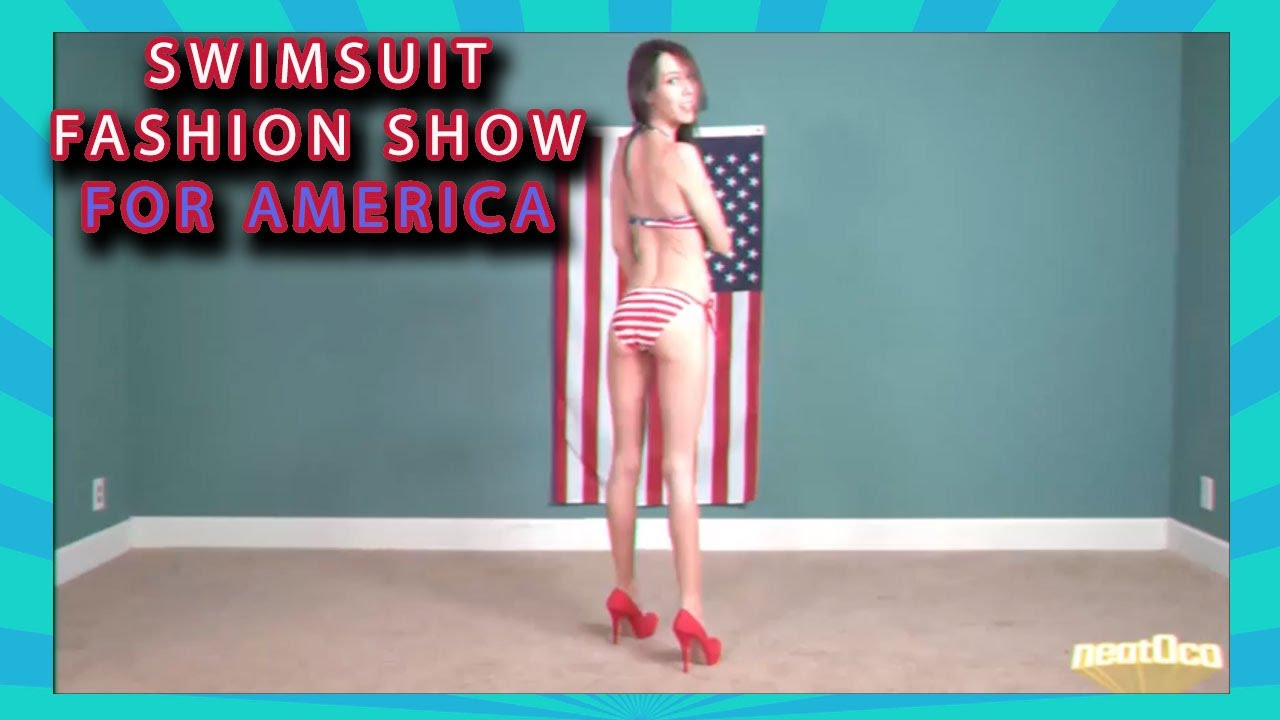 395f54c3b5a9 Swimsuit Fashion Show for America - YouTube