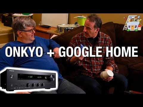Streaming music to Onkyo Receiver with Chromecast Built-in | HANDYGUYS TV
