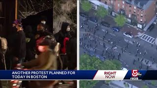 Another protest planned for tonight in Boston
