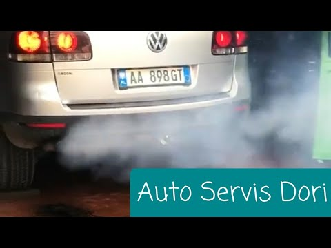 How to clean a Diesel Particulate Filter (DPF) VW Tuareg