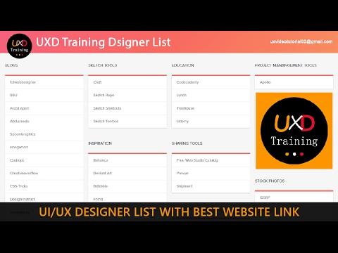 UI/UX Designer courses