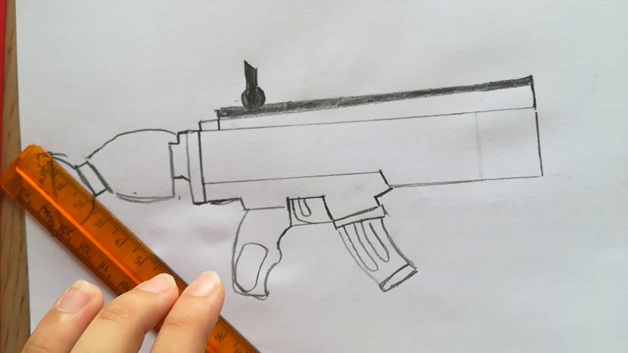 Come Disegnare Lo Scar H Fortnite Tutorial Youtube