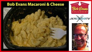 Food Taste Test: Bob Evans Macaroni and Cheese Review | JKMCraveTV
