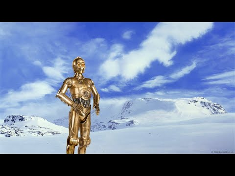 C-3PO shares a snow day message for The Grayson School