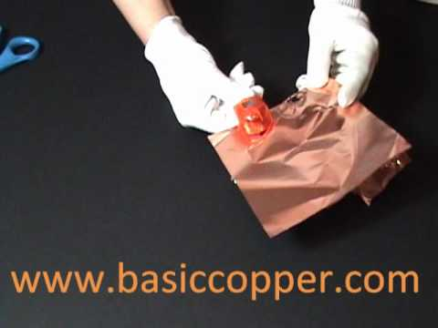 Copper Sheet Thickness Guide 1 Mil and 1.4 Mil