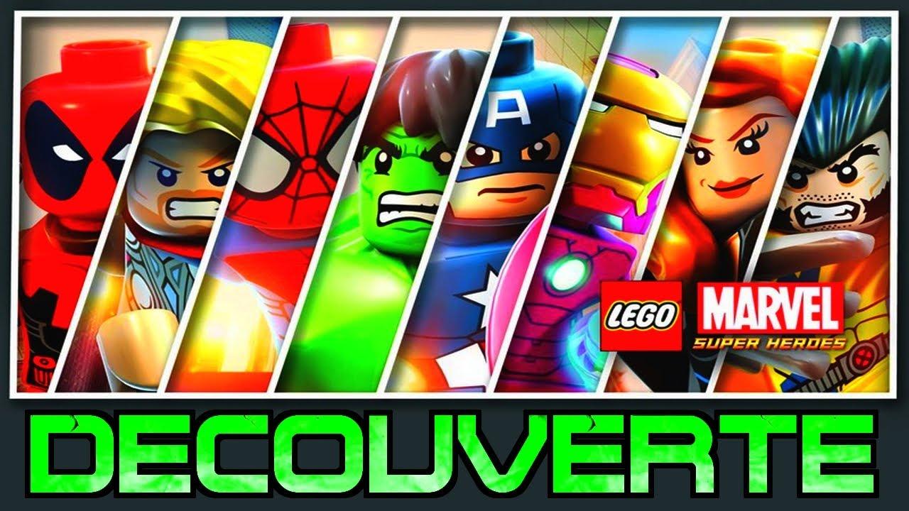 lego marvel super heroes vido dcouverte ironman hulk spiderman lequipe de choc frhd