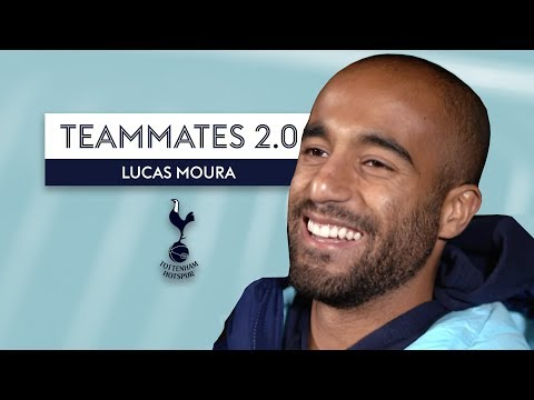 Who is the most VAIN player at Spurs? | Lucas Moura | Tottenham Teammates 2.0