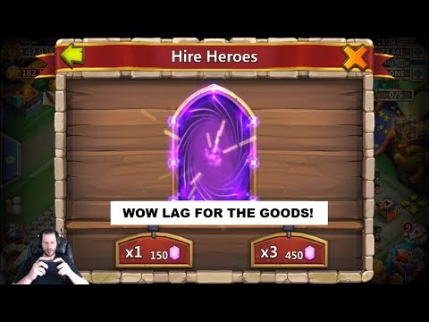 LAG Brings CRAZY LOVE IGG Gods Rolling 50k For Heroes Castle Clash