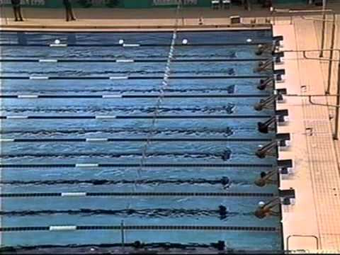 1996 Atlanta Olympic Swimming Men's back stroke 100m