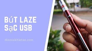 Bút Laze Công Trình Sạc USB Tia Xanh Lá Tia Đỏ Chuyên Nghiệp