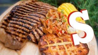 BBQ COLA STEAK RECIPE - SORTED