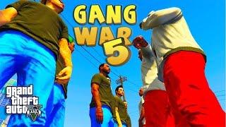 GTA 5 ONLINE - GANG WAR PART 5 - BETRAYAL | Bloods vs Crips