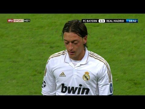 Mesut Özil vs Bayern München (Away) 11-12 HD 720p by iMesutOzilx11