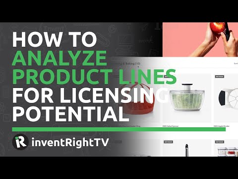 How to Analyze Product Lines For Licensing Potential