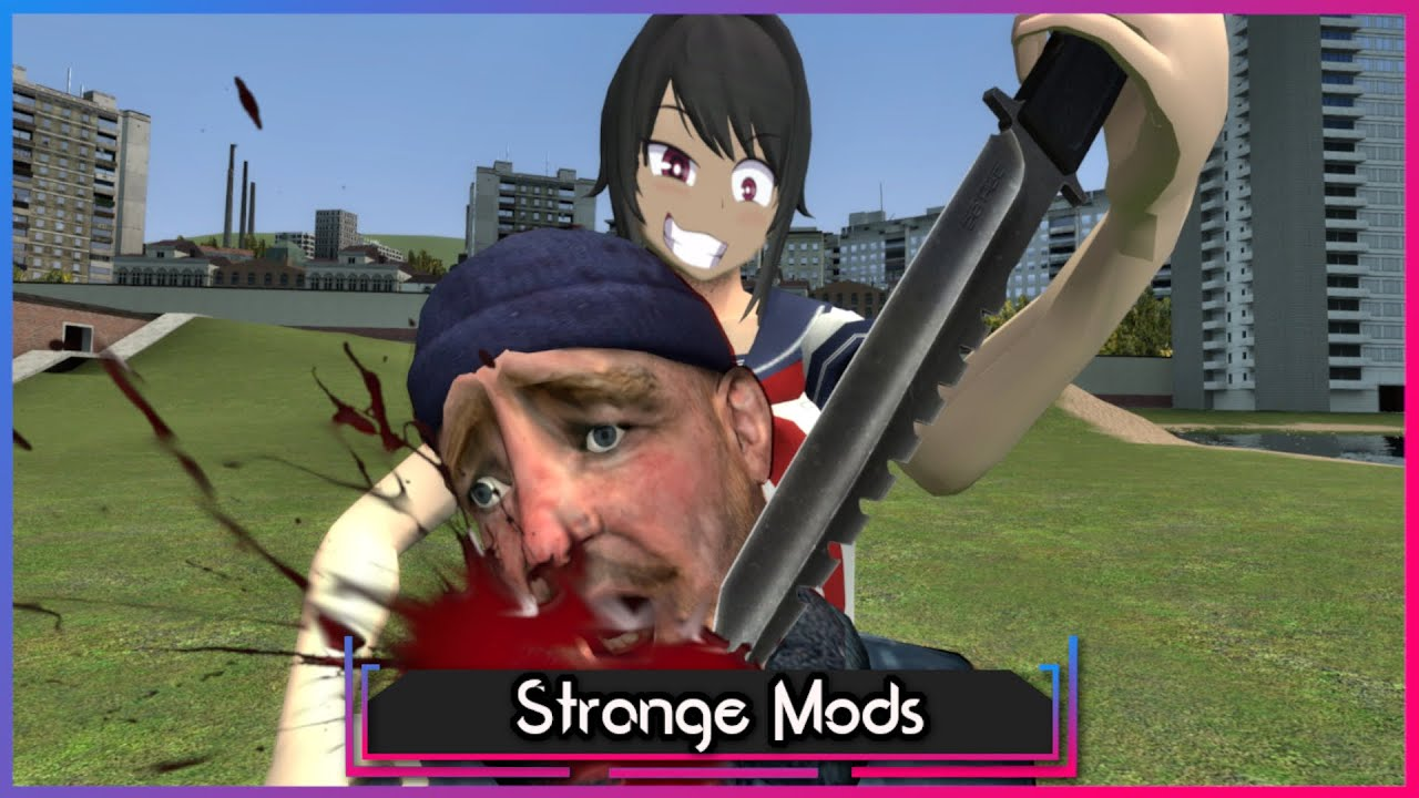 Playing Yandere Sim In Gmod Is NOT What I Expected.. | Garry's Mod