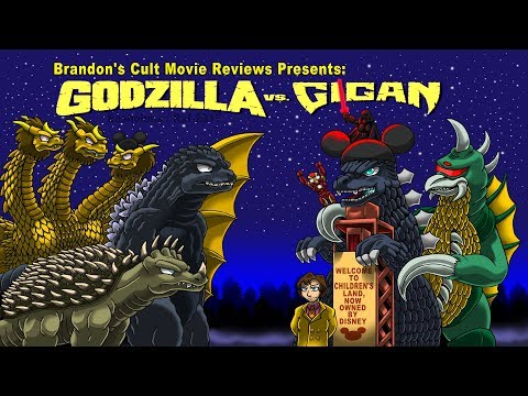 Brandon's Cult Movie Reviews: GODZILLA VS. GIGAN