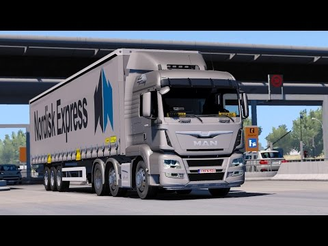 ETS 2 1.27 MAN TGS E6  Toulouse - Liege Part 1/2